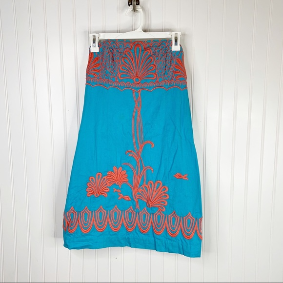 Lilly Pulitzer Fly Me To The Sea Bowen Dress Size 4